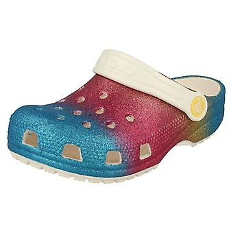 Tytöt Crocs Glitter Yksityiskohtainen Clog Classic Ombre Glitter Clog K