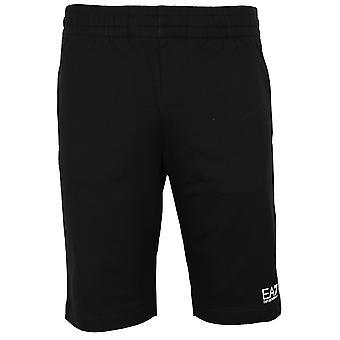 Ea7 emporio armani men's black shorts