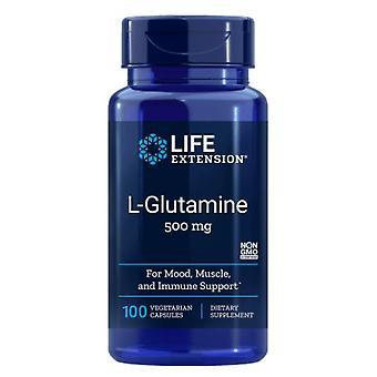 L-glutamina 500 mg - 100 kapsułek - Przedłużenie życia