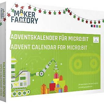 MAKERFACTORY Adventskalender für micro:bit 14 years and over