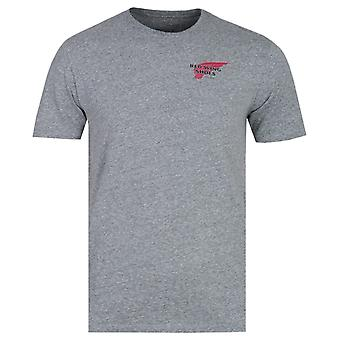 Red Wing Basic Logo grau Marl T-Shirt