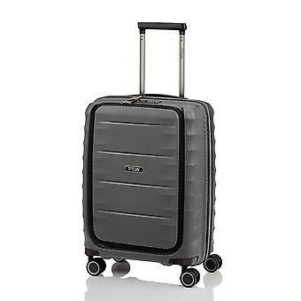 TITAN Destacado Business-Trolley S, 4 rollos, 55 cm, 42 L, Gris