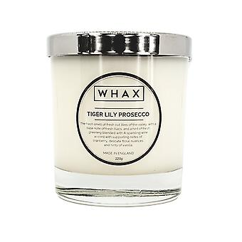Tiger lily prosecco luxury scented candle