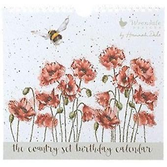 Wrendale Everlasting Birthday Calendar - Gifts From Handpicked