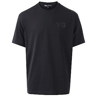 Men's Y-3 Classic Logo T-Shirt in Schwarz