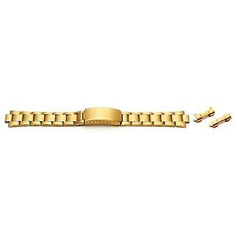 Watch bracelet gold pvd plated 12mm-22mm