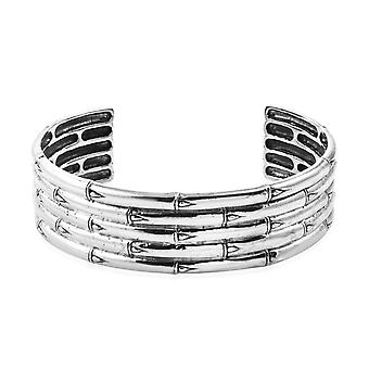 Royal Bali Handmade Cuff Bangle pour les femmes Sterling Silver Taille 7.25