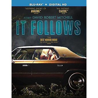 It Follows [BLU-RAY] USA import