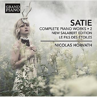 Satie / Horvath - Satie / Horvath: Complete Piano Works 2 [CD] USA import