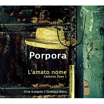 Porpora / Metastasio / Aresi - L'Amato Nome [CD] USA import
