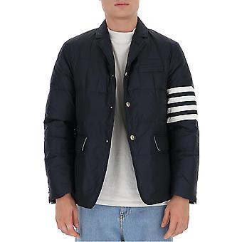 Thom Browne Mjd060x05411415 Men's Blue Polyester Outerwear Jacket