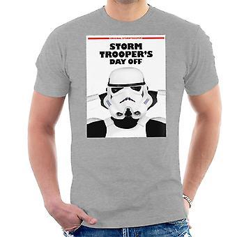 Alkuperäinen Stormtrooper myrsky Troopers päivä pois parodia miesten ' s T-paita