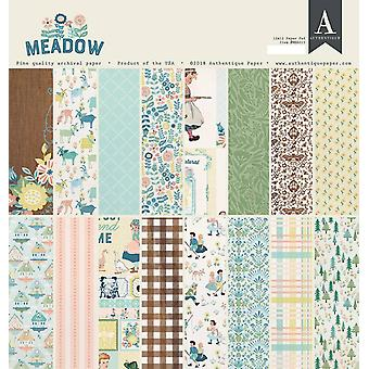 Authentique Meadow 12x12 Inch Paper Pad