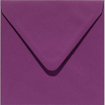 Papicolor 6X Envelope 140X140mm Aubergine