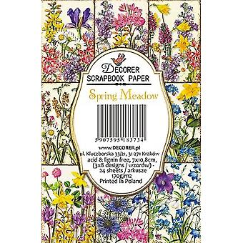Decorer Spring Meadow Paper Pack