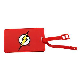 Luggage Tag - DC Comics - Flash Logo New Licensed dcc-0212