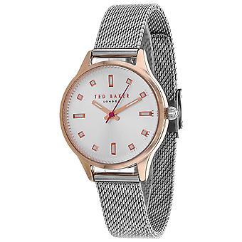 165, Ted Baker Women 's TE50650003 Reloj de plata de cuarzo