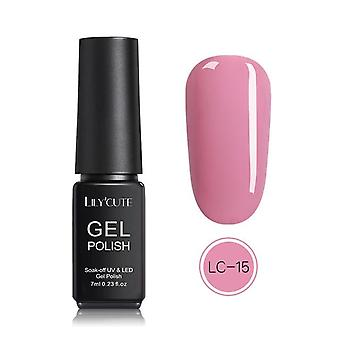 Nail Color Uv Led Gel Nail Polish, Macaron de longa duração Mergulhe fora do gel de verniz