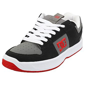 DC Shoes Lynx Zero Mens Skate Trainers in Black White Red
