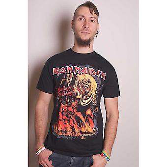 Iron Maiden Number Of The Beast Graphic Official Tee T-Shirt Unisex