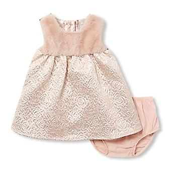 The Children's Place Baby Girls Special Occasion Dress, Soft Rose, 9-12MOS