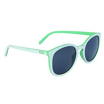 Sunglasses Unisex Panto Cat.3 White/Mint (009)