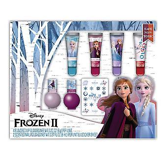 Beauty Accessories - Frozen II - Lip and Nail Beauty Set New 024971