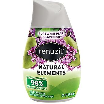 Renuzit Gel Air Freshener Natural Elements Pure White Pear & Lavender