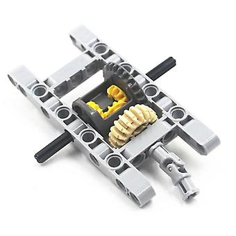 Moc Blocks Parts Technic Framed Differential Gear Set- Kit Pack Chassis Part Compatible With Lego