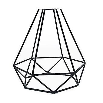 Ceiling-light Cover Hanging-lampshade Retro Vintage Iron Shop Diy Accessories Pendant Indoor Cage-shape