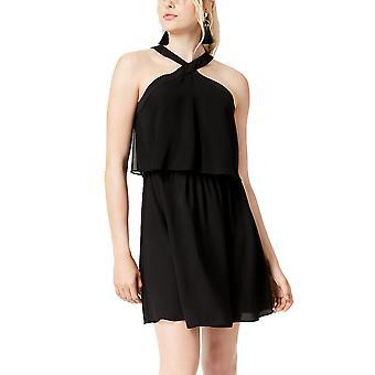 בר III | שמלה קצרה מוצלבת בשקיעה בוהו