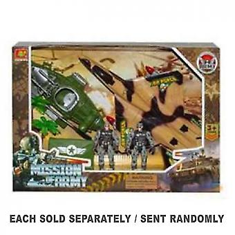 Military Toy Soldier Playset (1pc Random Style)