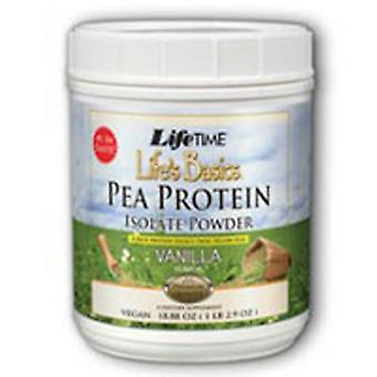 Life Time Nutritional Specialties Pea Protein Isolate, Vanilla 1.2 lb