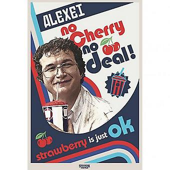 Stranger Things No Cherry No Deal Poster