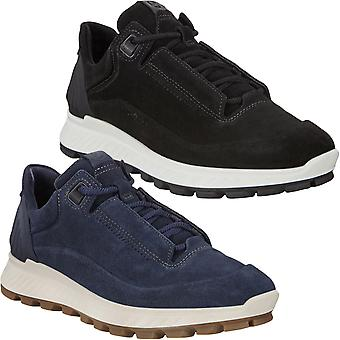 Ecco Womens Exostrike Suede Leather Outdoor Hiking Walking Trainers Shoes