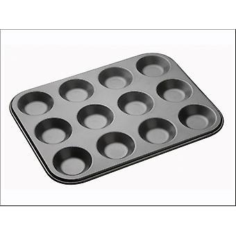 Kitchen Craft Master Class Non Stick Baking Pan 12 hole KCMCHB29
