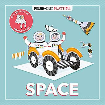 Press-Out Playtime Space [Board book]