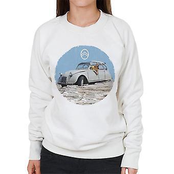 Citro?n 2CV Vintage Photo Women's Sweatshirt
