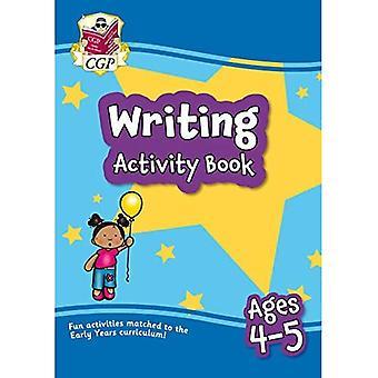 Ny Skrivning Home Learning Aktivitet Book for ages 4-5