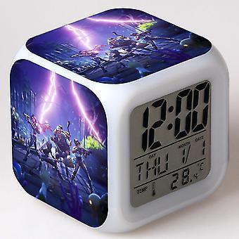 Colorful Multifunctional LED Children's Alarm Clock -Quinze dias #4