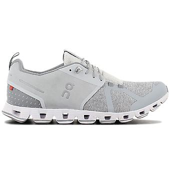 ON Running Cloud Terry - Men's Shoes Silver Grey 18.99842 Sneakers Sports Shoes