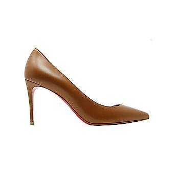 Christian Louboutin 1210665n248 Women's Brown Leather Pumps