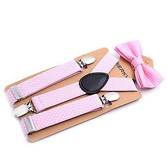 12 Colors Suspender + Bow Tie Matching Sets/girls