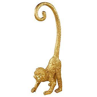 Kultainen kiharahäntäinen näätä apinakorista 43cm