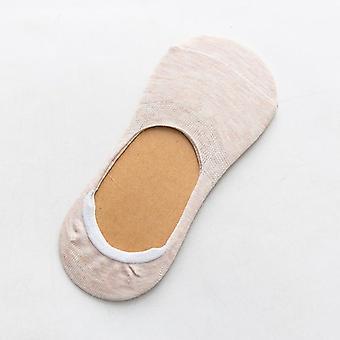 Spring/summer Fashion Wild Shallow Mouth Filmen Female Invisible Slipper Socks