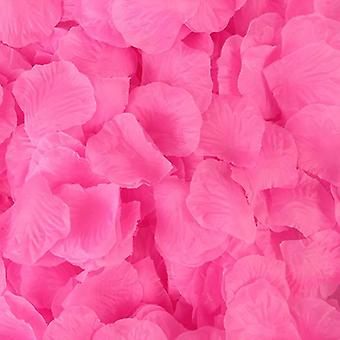 2000pcs Artificial Rose Petals Wedding Colorful Silk Flower Accessories