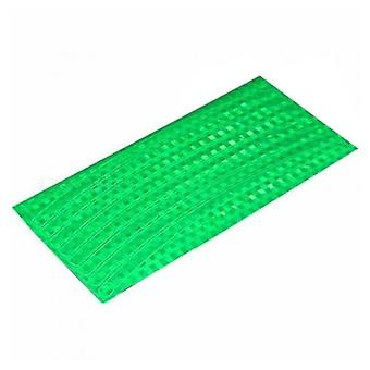 Green Plastic 21x0.8cm Fluorescent Bike Bicycle Cycling Motorcycle Wheel Tire