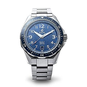 BOLDR ODYSSEY FREEDIVER METEO635 Automatic Blue Dial Wristwatch
