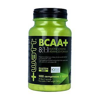Bcaa + 8: 1: 1 200 tabletter