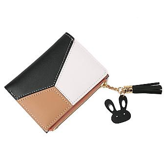Luxury Brand Leather Zipper Coin Purses